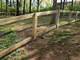 Welded wire dog fence Steel Hog Wire Fence Bamboo Fence Dog Fence Welded Wire Fence Cedar Fence Pinterest Pin By Maureen On House House Baby Fence Backyard Fences Fence