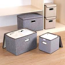 closet storage containers box large linen fabric cube bins bedroom with lid plastic best for sh closet storage containers