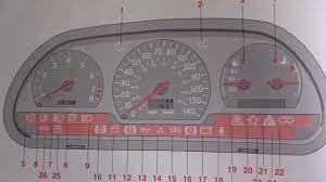Volvo V70 Dash Lights Volvo V40 S40 Dashboard Warning Lights Symbols Youtube