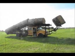 Dave Anderson's Hay Bale Mover - YouTube