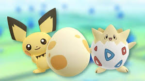 Pokemon Togepi Evolution Chart Pokemon Go Egg Chart 2km 5km 7km And 10km Egg Hatches