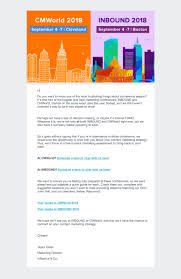 Newsletter Format Examples B2b Email Marketing 11 Outstanding Examples Mailerlite