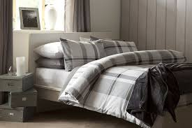 image of duvet cover grey home