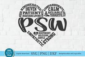 If you'd like to help me keep this site free, please consider paying a small amount for your downloads. Personal Support Worker Svg A Psw Svg For Crafters 576679 Cut Files Design Bundles