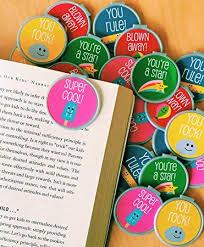 Amazon Com Trendy Fun Bookmarks 36 Bulk Bookmarks For Kids