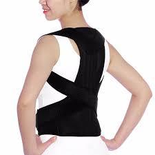 <b>Adjustable Back Posture Corrector</b> Clavicle Spine Back Shoulder ...