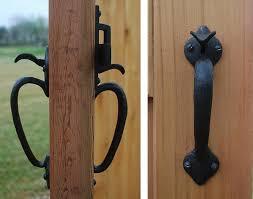 coastal bronze solid bronze door gate thumb latch set