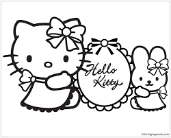 If you like what you see and you would like to print it out follow the next few steps. Hello Kitty 1 Coloring Page Hello Kitty Colouring Pages Hello Kitty Coloring Hello Kitty