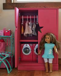 ana white star doll closet for american girl or 18 doll diy projects