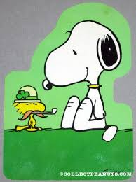 Image result for snoopy st patricks day