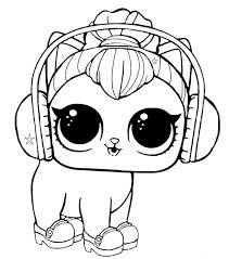 See more ideas about coloring pages, lol dolls, coloring books. Lol Dolls Coloring Pages Best Coloring Pages For Kids Kitty Coloring Dog Coloring Page Puppy Coloring Pages