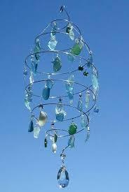 sea glass chandelier corbett lighting aqua green