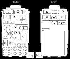 honda prelude fuse box diagram image details honda prelude fuse box diagram