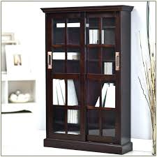 altra aaron lane bookcase with sliding glass doors red home design ideas stylish door as well