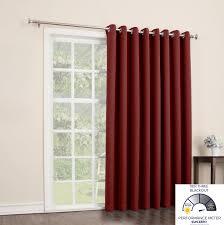 sun zero easton blackout patio door curtain panel 100 from energy saving patio door curtains