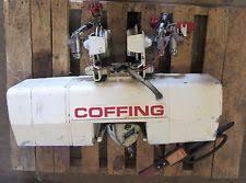 wire rope hoist duff norton wire rope hoist 1 ton coffing