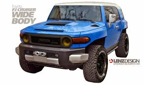 Toyota FJ Cruiser Wide Body Project Lenzdesign Performance Israel ...