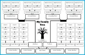 Printable Family Tree Template Type In Your Free 5