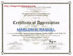 Certificate Of Appreciation Examples Sample Certificate Of Appreciation Templates Save Sample Certificate 1