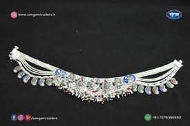 Fancy Silver Payal Designs With Price Dulhan Silver Anklet