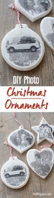 transfer cherished photos onto wood ornaments