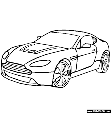 Small Picture Supercars and Prototype Cars Online Coloring Pages Page 1