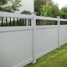 vinyl fence panels. Types Of Vinyl Fences Vinyl Fence Panels