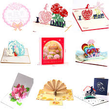 Teachers Birthday Card Us 2 5 24 Off 1pcs Lot Teachers Day Greeting Card Birthday Blessing 3d Creative Mothers Day Fathers Day Thanksgiving Card Invitation Card In