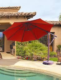 galtech 887 11 ft octagon cantilever umbrella