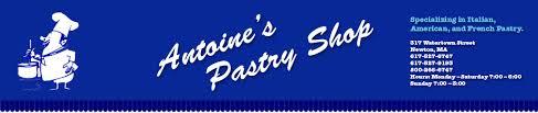 Our Menu :: Antoine's Pastry Shop