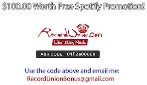 promo code spotify