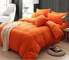 solid color orange duvet cover set solid color lattice 4pcs bedding sets comforter sets full queen burnt orange duvet cover queen orange duvet covers queen
