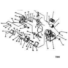 generac engine parts model ehf00935 sears partsdirect long block