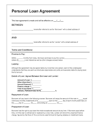 The borrower and the lender, or the person taking money and the person giving money. Download Personal Loan Agreement Template Pdf Rtf Word Doc Wikidownload Personal Loans Contract Template Loan