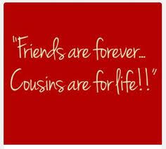 Cousin Love Quotes Awesome Funny Quotes About Cousins Cousinsareconnectedheartheart