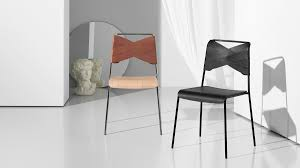 chair design. Torso Chair In Oak/cognac And Black. Design Lisa Hilland For House Stockholm