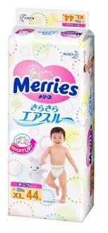 <b>Подгузники Merries XL</b> (<b>12-20 кг</b>) 44 шт купить в Ульяновске ...