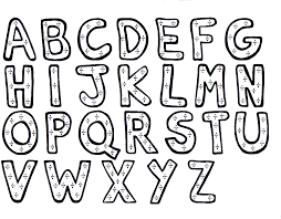 Alphabet Coloring Pages 2 Coloring Kids