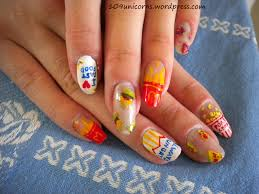 Fast Food Nail Designs Always Hungry Unicorns Everywhere