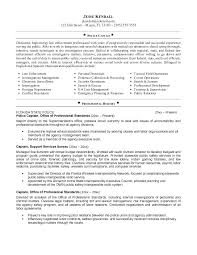 Police Officer Cover Letter No Experience New Labor Lawyer Resume