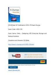 Designing Hpe Backup Solutions It Dumps Hp Hpe0 J78 Exam Dumps By Realdumps Issuu