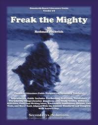 freak the mighty literature guide secondary solutions currclick freak the mighty literature guide quick preview
