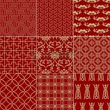 Chinese Fabric Patterns Simple Decorating Design