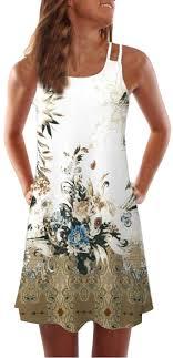UONQD 2019d Women Summer Vintage Sleeveless ... - Amazon.com