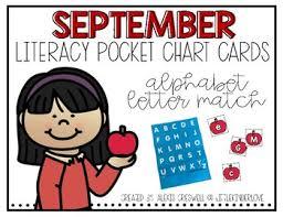 Telephony Alphabet Chart September Alphabet Pocket Chart Fun