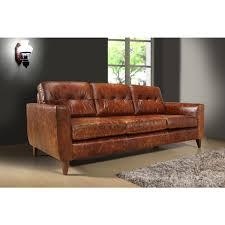 Antique Leather Sofa Austin Vintage Brown 3 Seat Antique Leather A51
