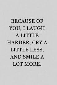 Laugh Quotes Simple Best Friends Quotes Because Of You I Laugh A Little Harder