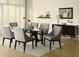 9 foot gl dining table rectangle grace contemporary cappuccino dining server furniture accent