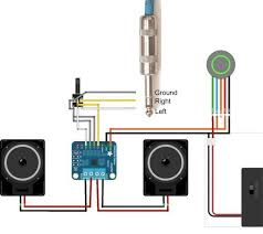 build a portable sound system stereo 3 7w class d audio amplifier Impedance Speaker Wiring Diagrams wire it up!