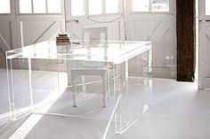 clear office desk. Peekaboo Clear Console In Office Furniture | CB2 Lucite Desk So It Isn\u0027t  Overpowering A Small Space Home Office Pinterest Lucite Desk, Consoles And E